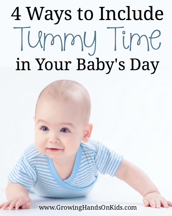4 tips for tummy time in your babies' day