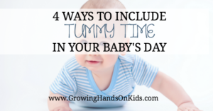 4 Tips on Including Tummy Time In Your Baby's Day