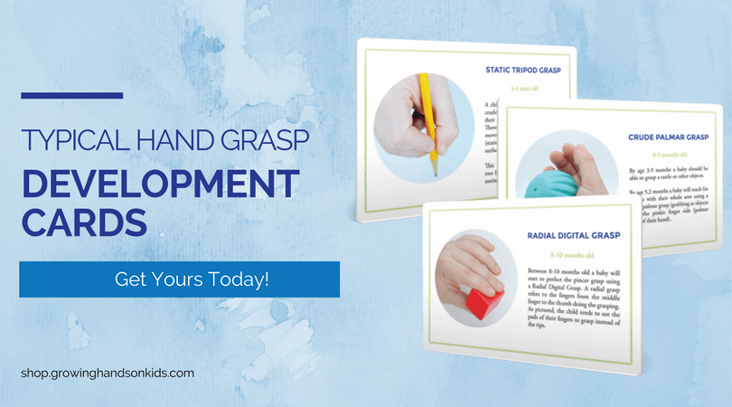 Typical Hand Grasp Development Cards,