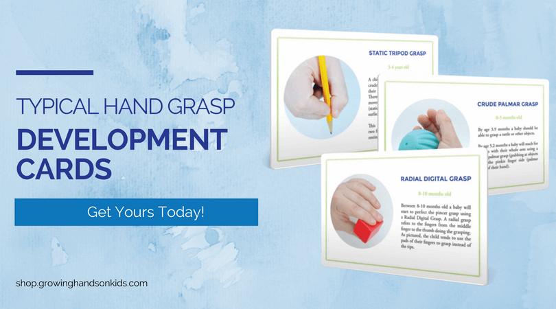 Typical Hand Grasp Development Cards,