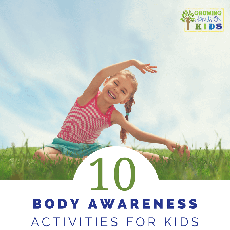 10 body awareness activities for kids, perfect for working on bilateral coordination and crossing midline.