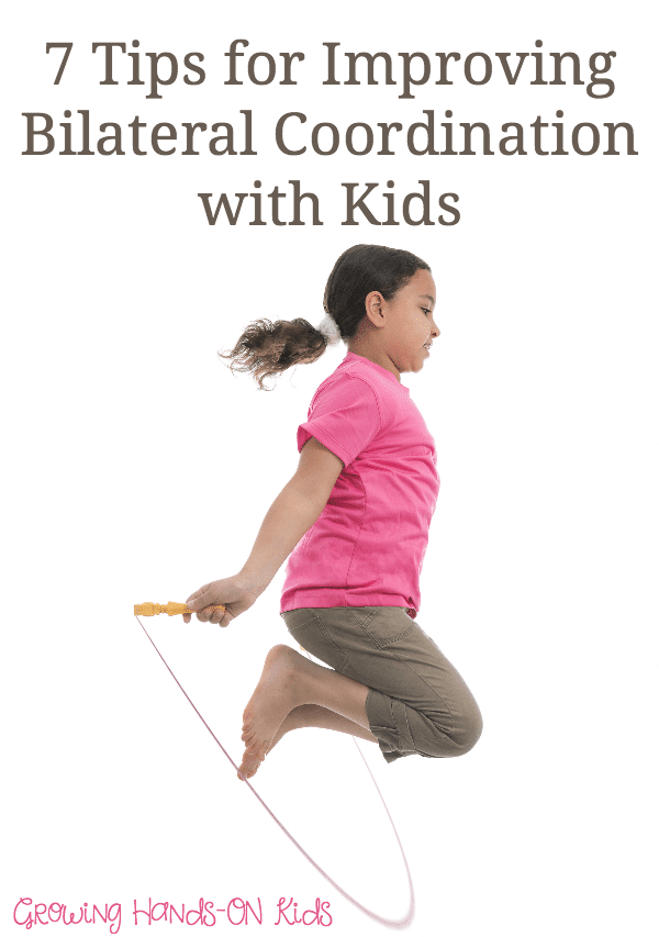 Improve bilateral coordination with kids