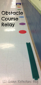 Scooter Board Activity For Kids: Obstacle Course Relay | Golden Reflections Blog