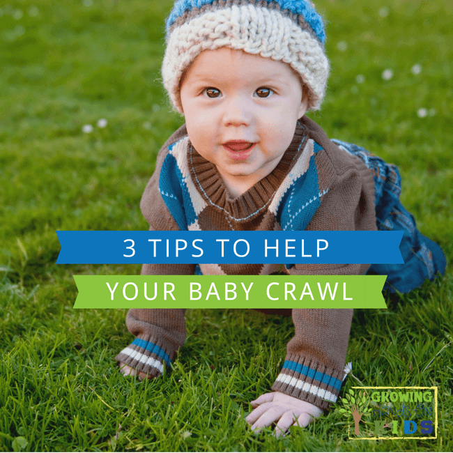 How to Teach Baby to Crawl 👶💪 ️ Baby Exercises #6-9 Months ...