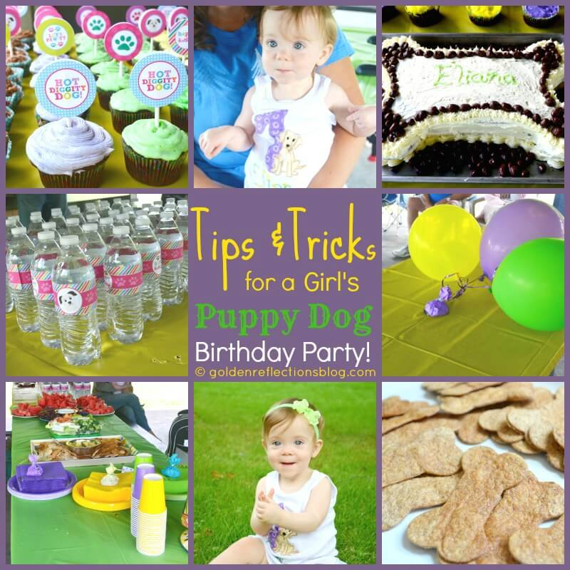 e905bb28a6 Tips & Tricks to Throwing a Girl's Puppy Dog Themed Birthday Party ...