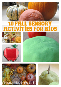 10 fall sensory activities for children.