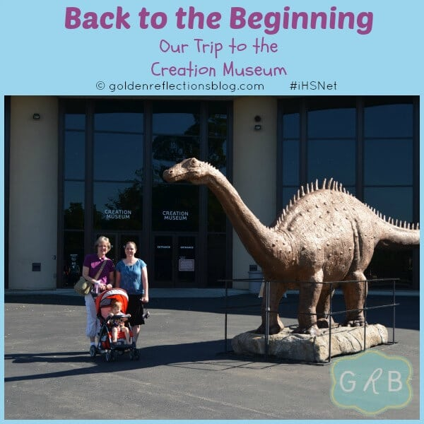 Back to the Beginning - Out trip to the Creation Museum #iHSNet