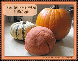 Pumpkin Pie Scented Playdough