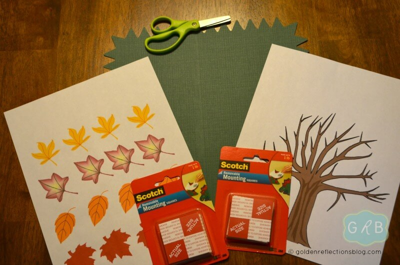 Fall Tree Decorating Craft 1