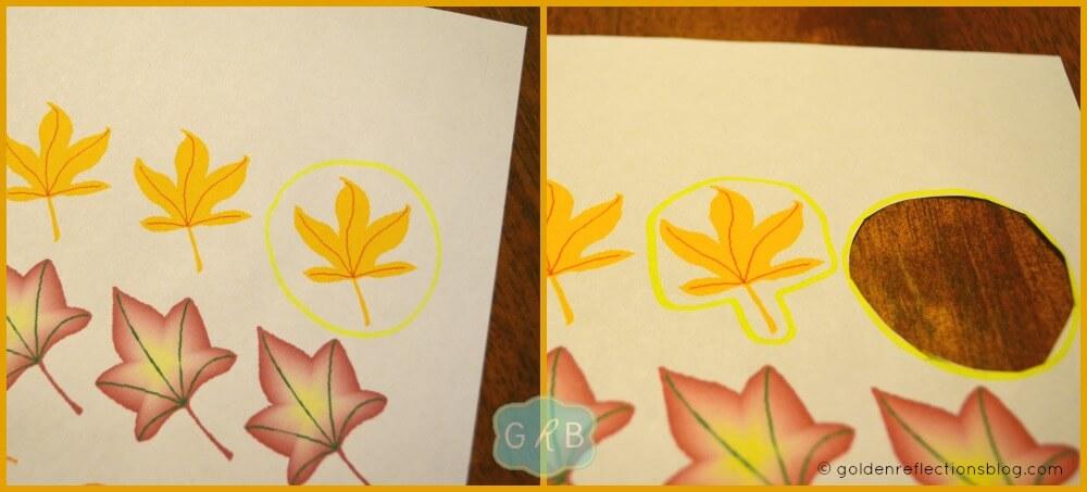 Fall Tree Decorating Craft 2