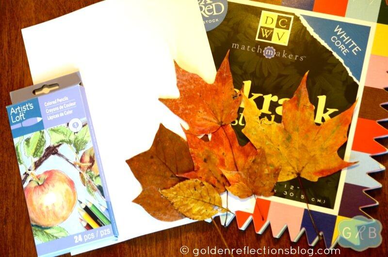 Leaf Rubbing Collage 2
