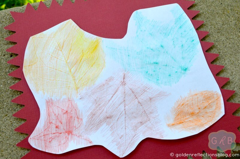 Fall Leaf Rubbing Activity - Growing Hands-On Kids