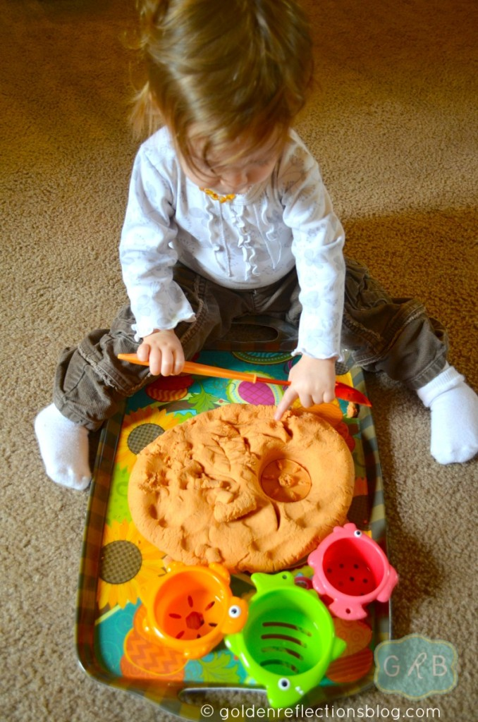 Pumpkin Pie Scented Play Dough 5