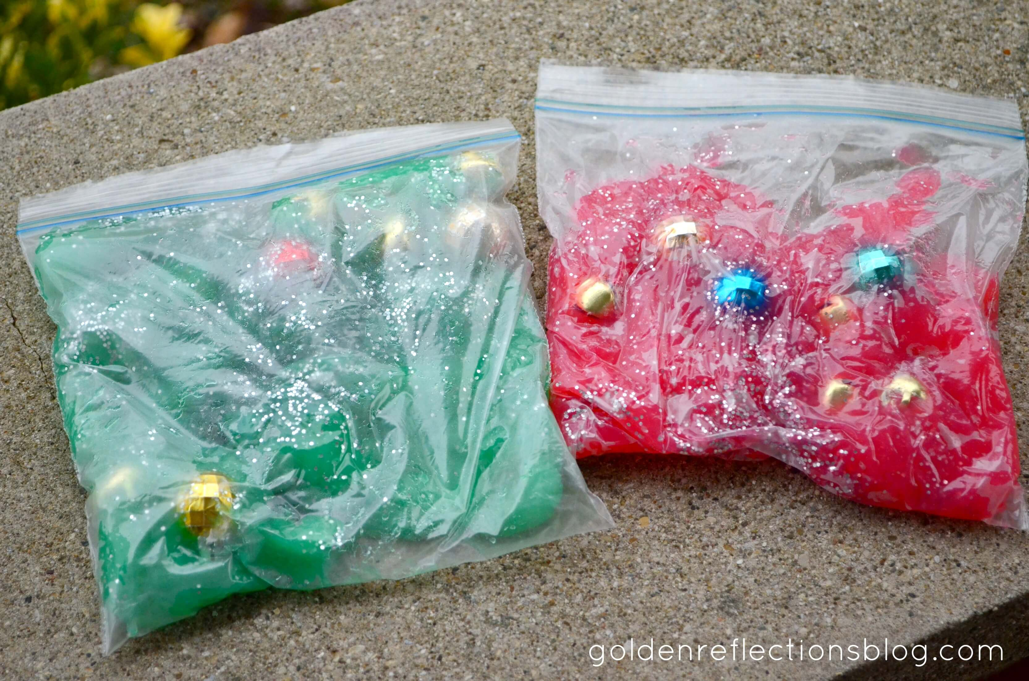 How To Make Sensory Bags Using Leftover Homemade Finger Paint Growing Hands On Kids