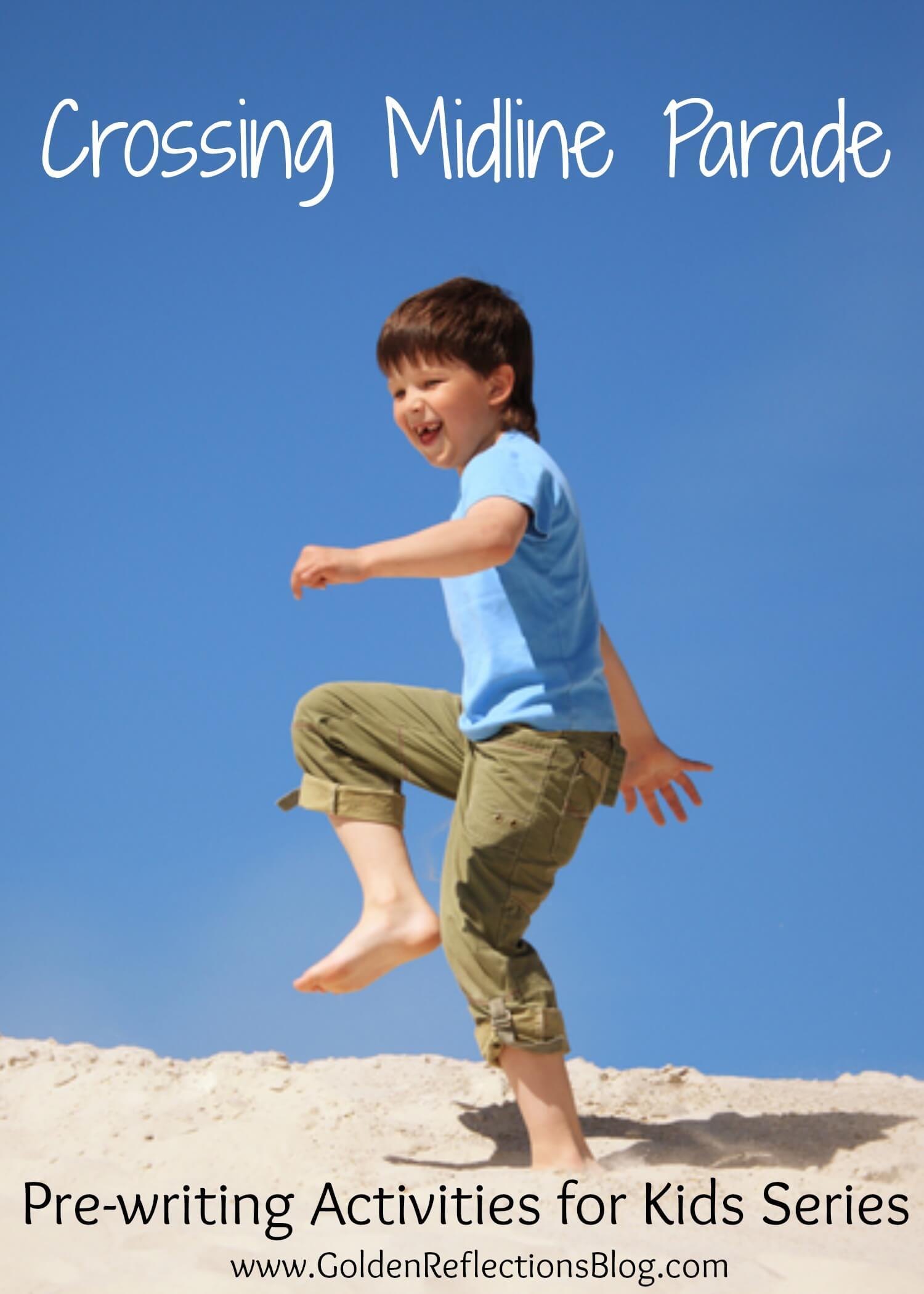 Pre-writing Activities for Kids: Crossing Midline Activity ...