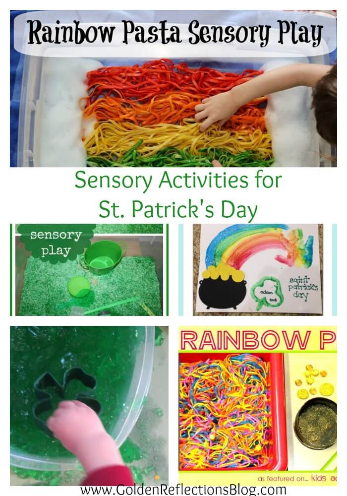 10 Sensory St. Patrick's Day activities for kids
