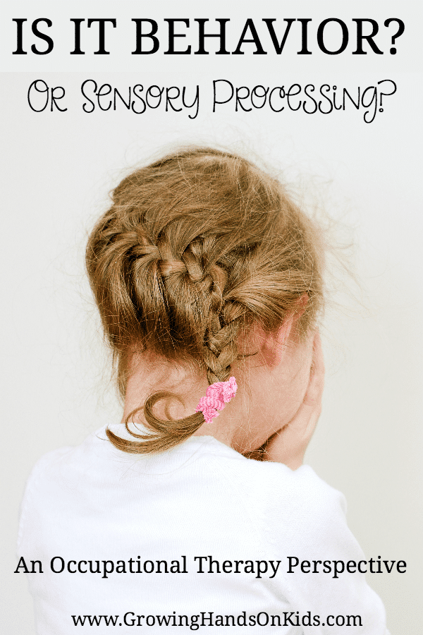 Behavior vs. sensory processing