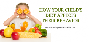 How Your Child's Diet Affects Their Behavior, also dealing with food sensitivities and allergies.