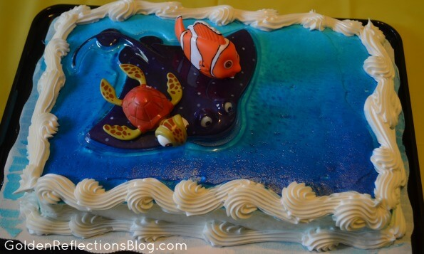 Fish themed birthday party ideas growing hands on kids for Happy fish and chicken