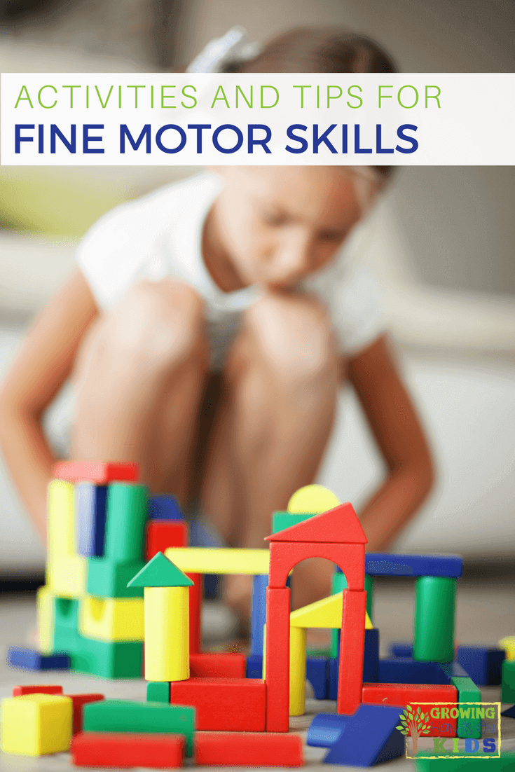 Activities for fine motor skills development for kids