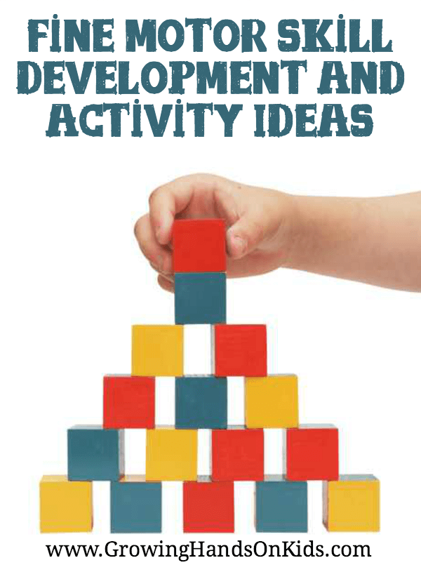 Fine motor skills development for kids
