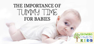 The Importance of Tummy Time for Babies: A Therapy Blogger Blog Hop