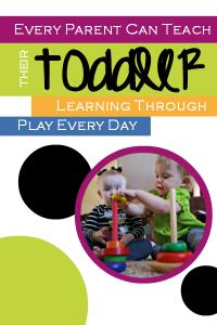 Every Parent can Teach Their Toddler ebook.
