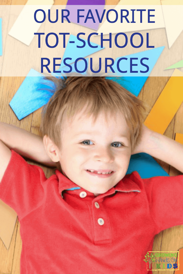 Our favorite tot-school resources and activities for ages 2-3.