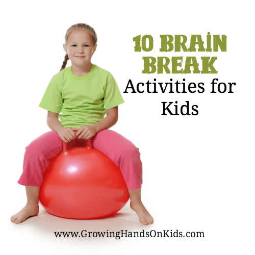Need a brain break? Here are 10 great brain break ideas for kids of all ages.