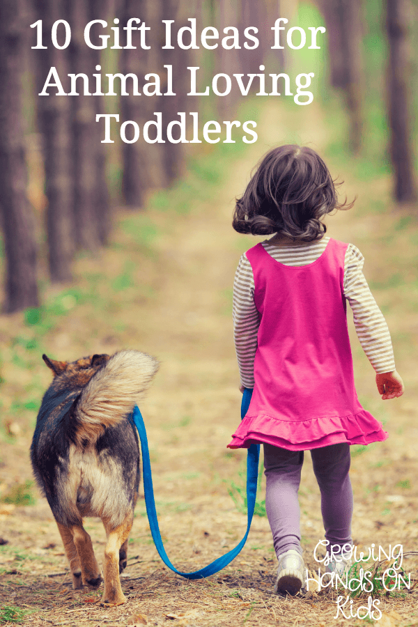 gift ideas for toddlers who love animals