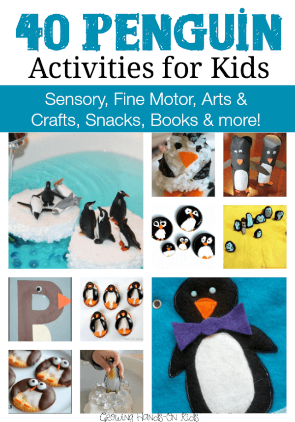 40 penguin activities for kids