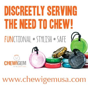 discreetly serving the need to chew, Chewigem USA