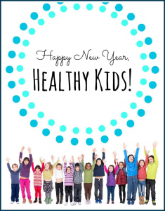 Happy New Year, Healthy Kids Series.