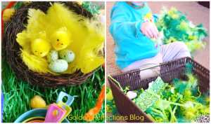 feather sensory play ideas