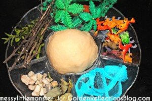 p is for play dough sensory play for kids
