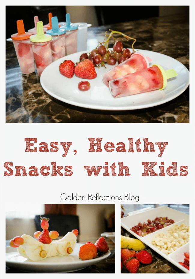 Making Easy and Healthy Snacks with Kids