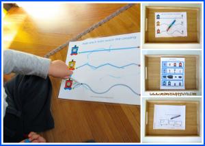 montessori inspired preschool printables