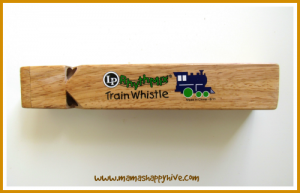 train whistle tot tray