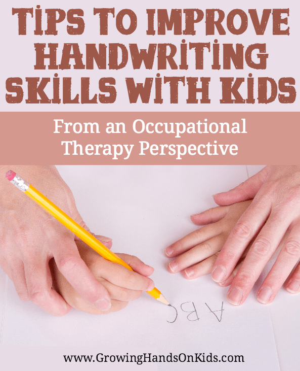improve handwriting skills with kids