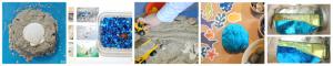 Beach and ocean themed sensory play ideas for kids.