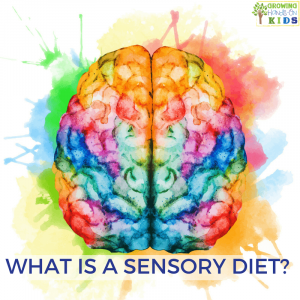 What is a sensory diet? For parents, educators, and therapists.
