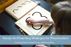 fun and engaging hands-on prewriting strategies for preschoolers.