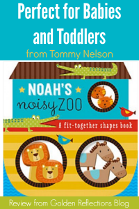 Noah's Noisy Zoo Review from Tommy Nelson + Giveaway!