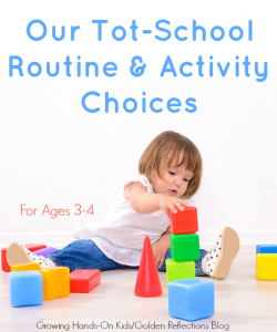 """Our tot-school routine and activity choices for the 2015/2016 """"school"""" year."""