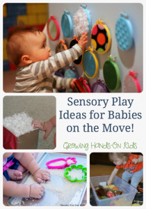 Sensory Play Ideas for Babies on the Move!