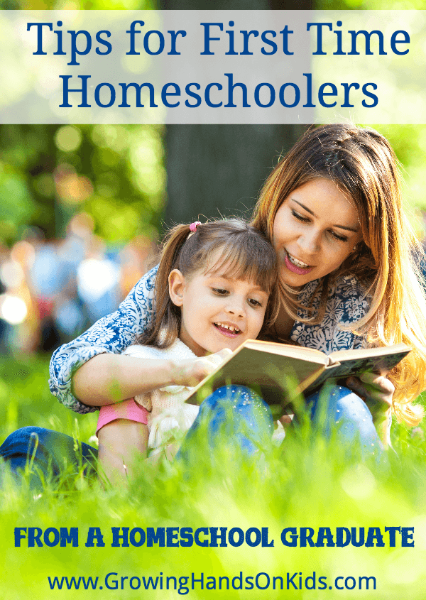 Tips for first time homeschoolers from a homeschool graduate.