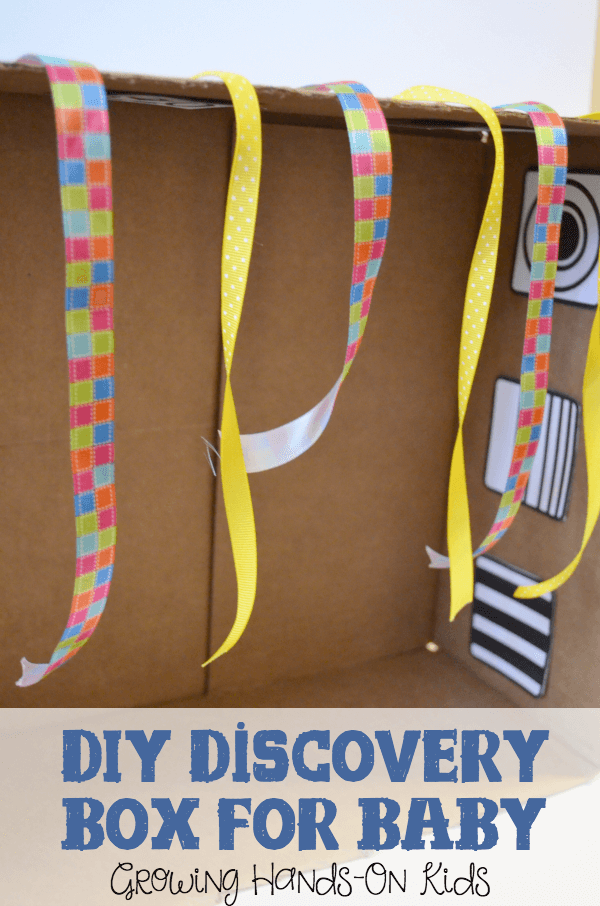 DIY Discovery Box for Baby