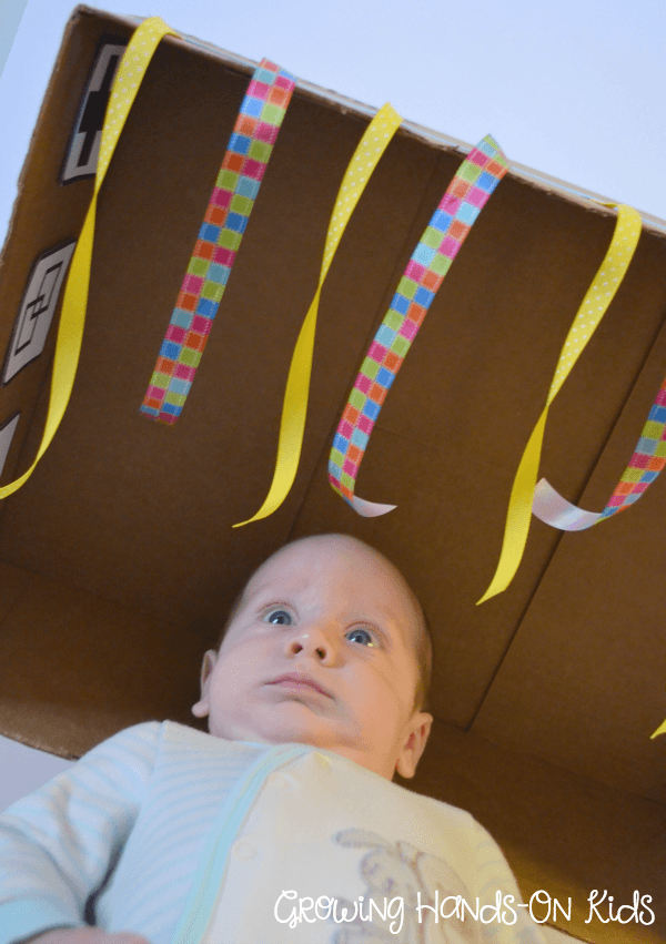 DIY-discovery-baby-box-playing