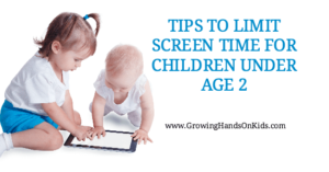 Tips for Limiting Screen Time Before Age 2