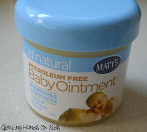 Maty's all natural baby ointment.